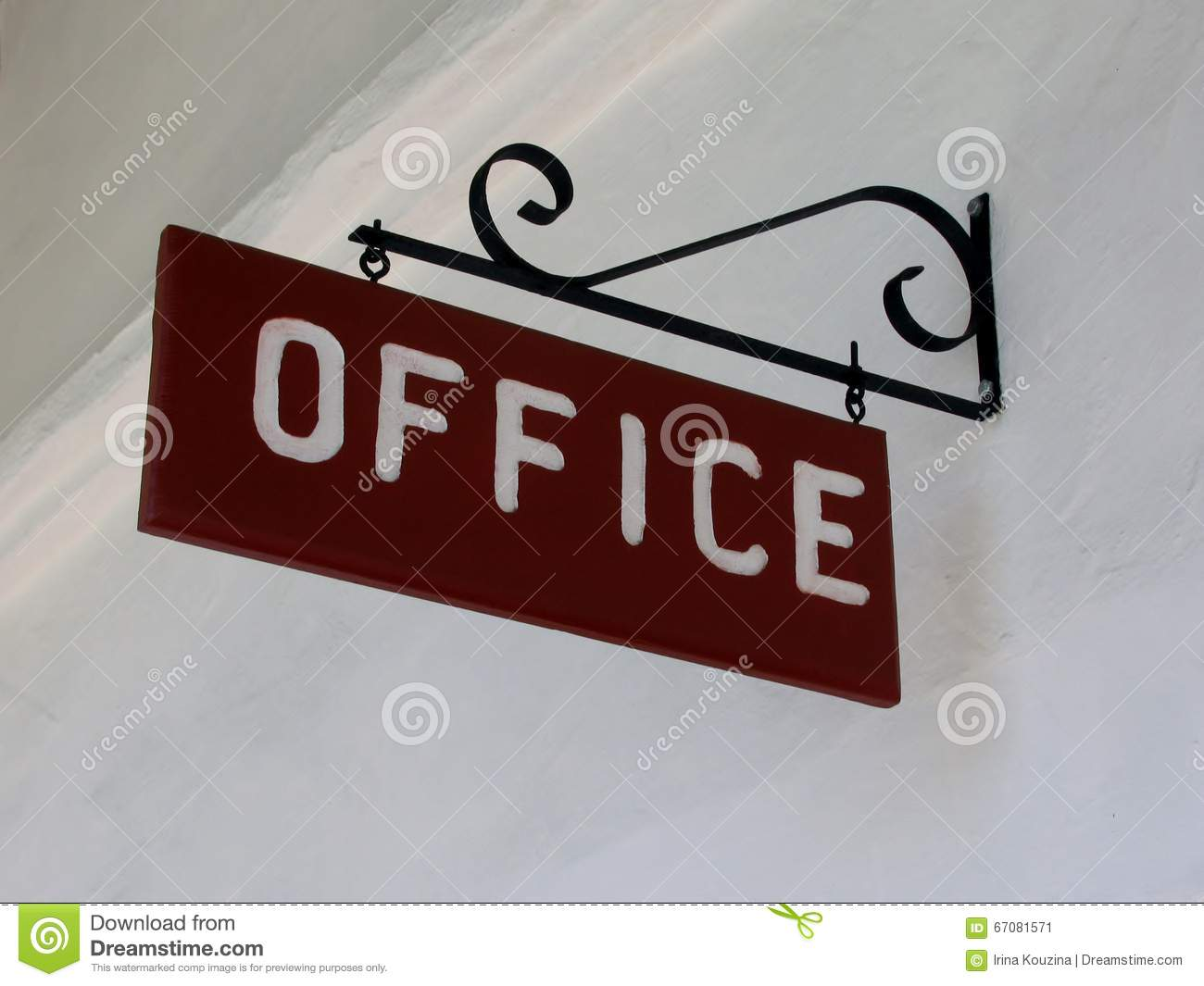 Office Vintage Sign