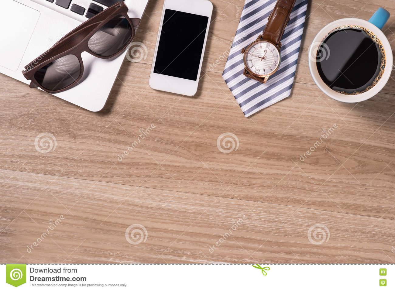coffee cup top view white wood table background stock photos