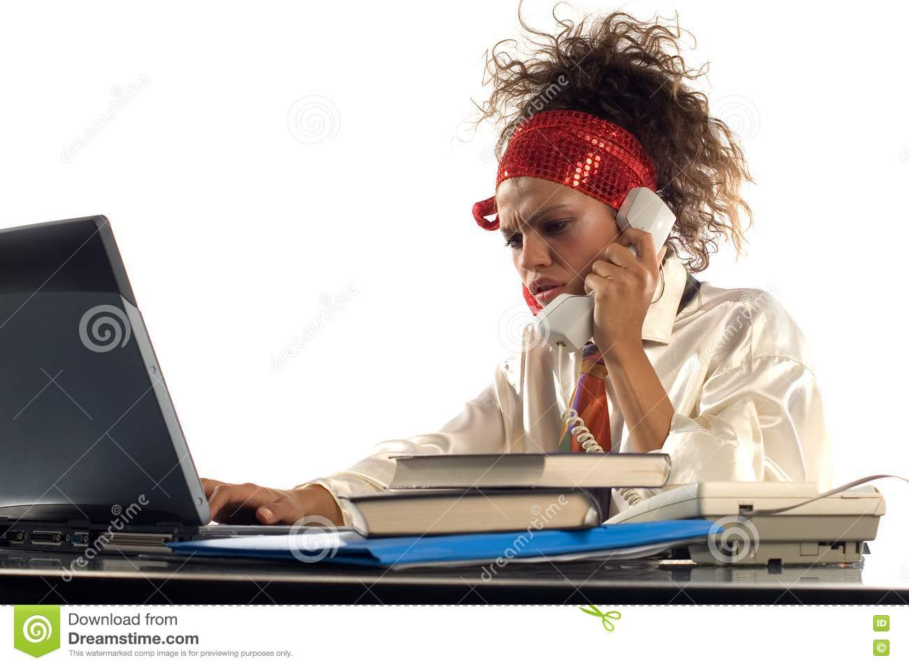 Download Office work stock photo. Image of female, searching, talking - 1688998