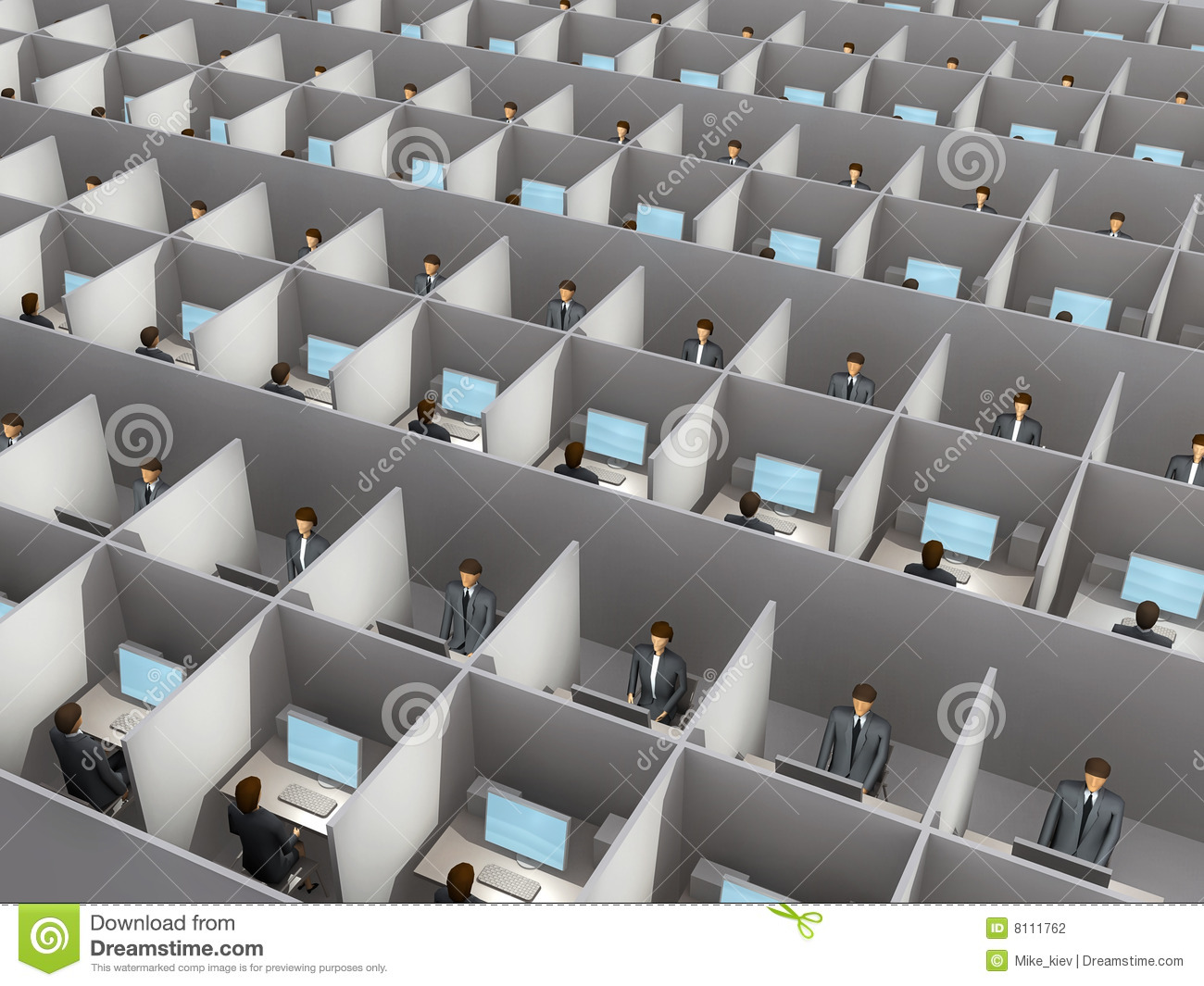Office Work Stock Photography Image 8111762