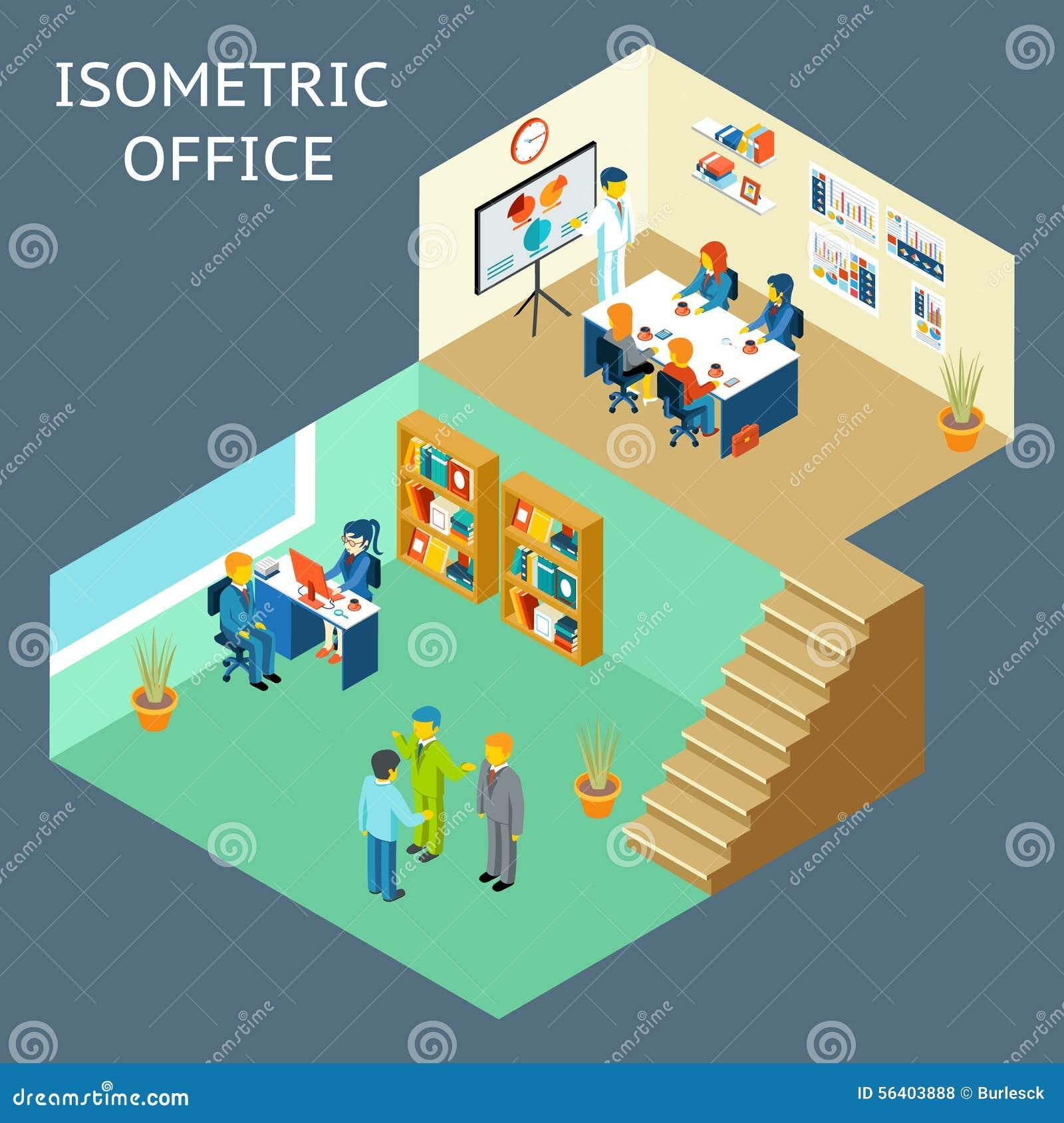 Store Interior Design Co Worker