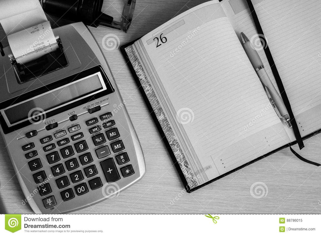 Office work, time to manage and consider the Finance
