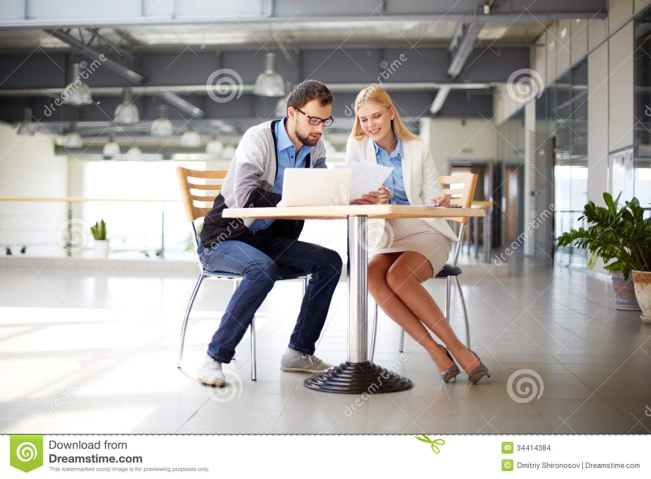 Office Work Stock Images Image 34414384