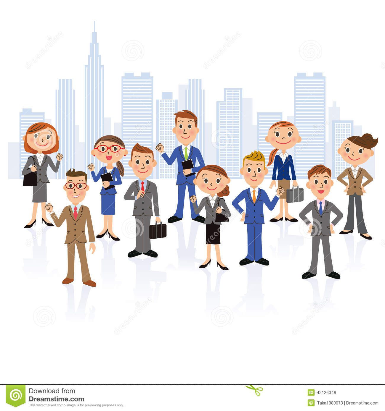 office worker meeting stock vector image  office worker meeting