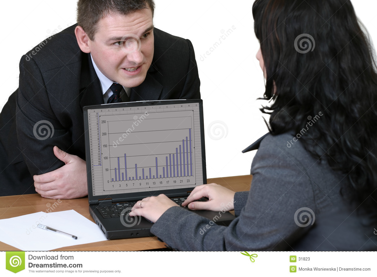 Office Workers - Conversation