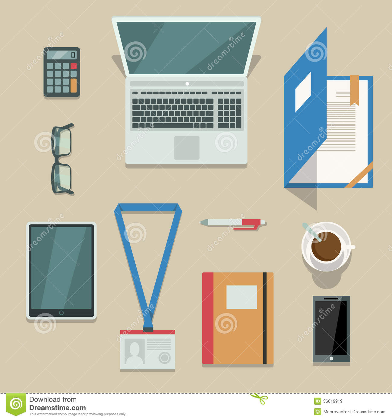 Office workplace with mobile devices and documents royalty free stock images image 36019919 - Office for mobile devices ...