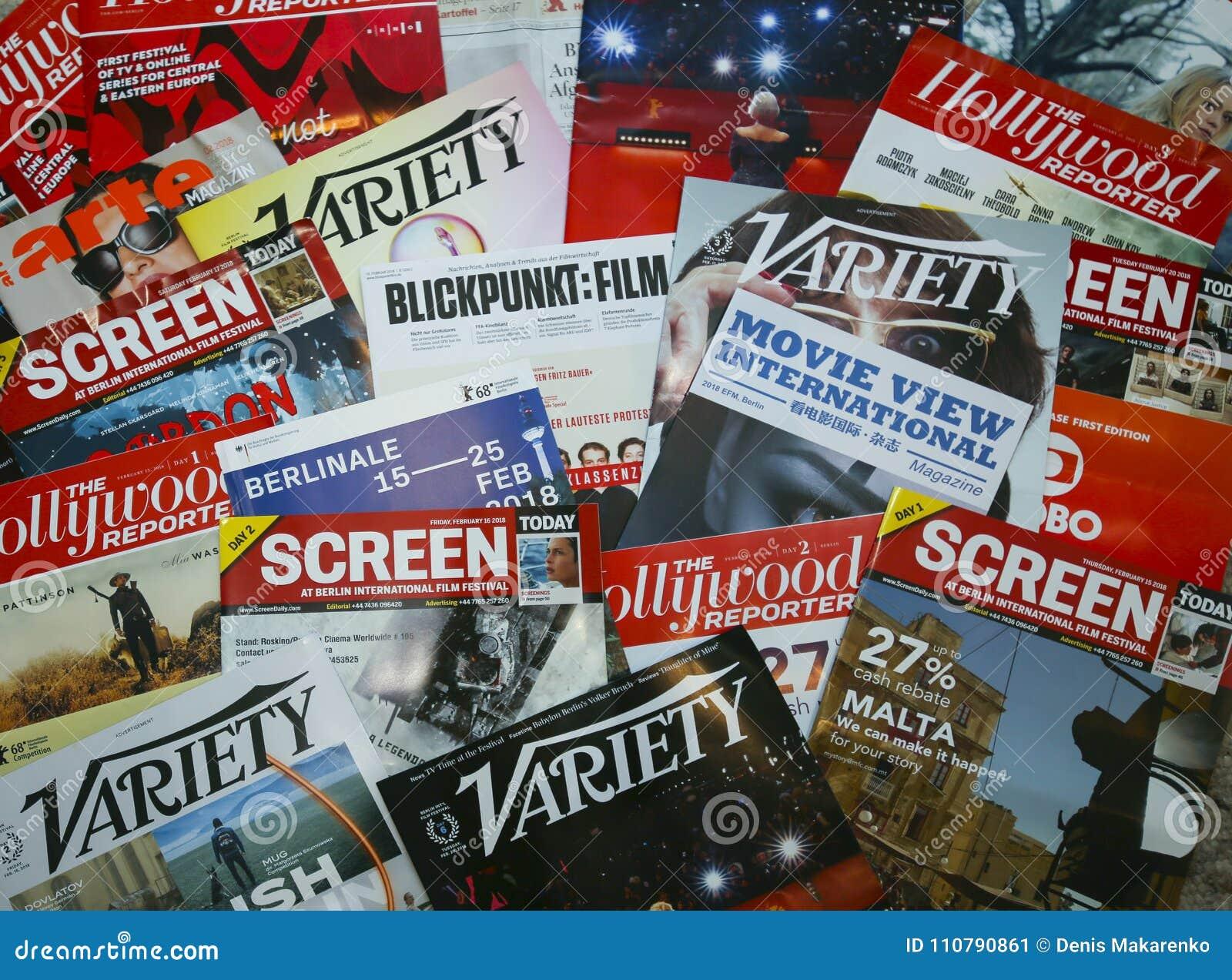Officiële publicatie van Berlin Film Festival