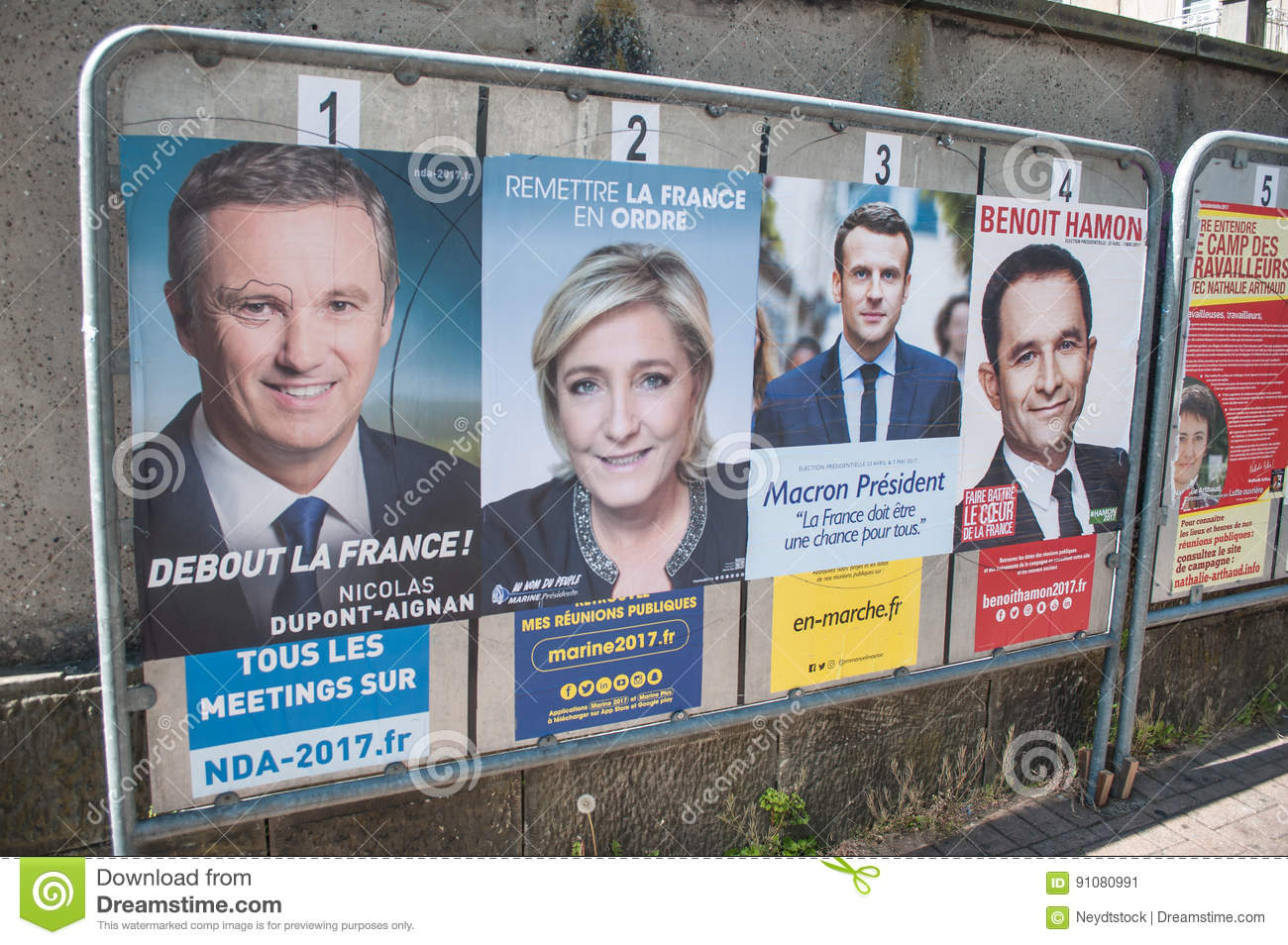 Official Campaign Posters Of Political Party Leaders Ones ...