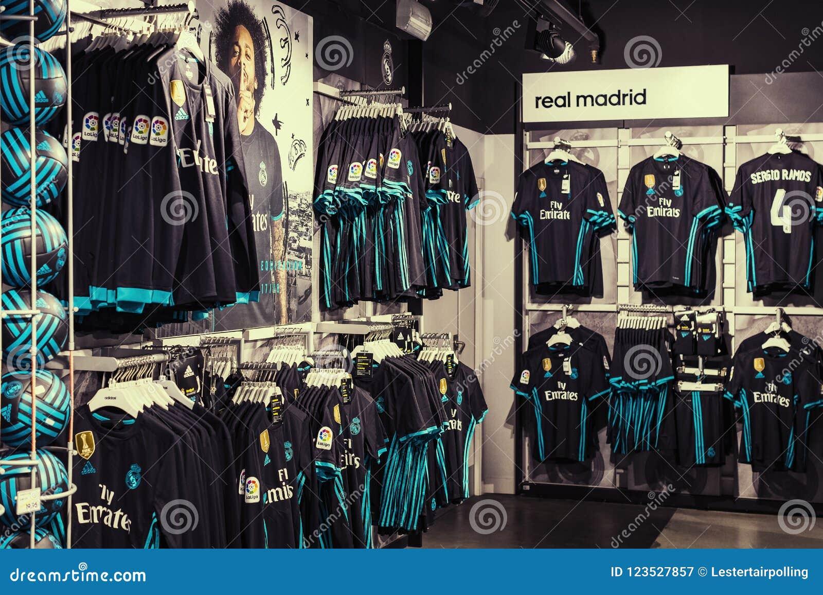 real madrid store madrid spain