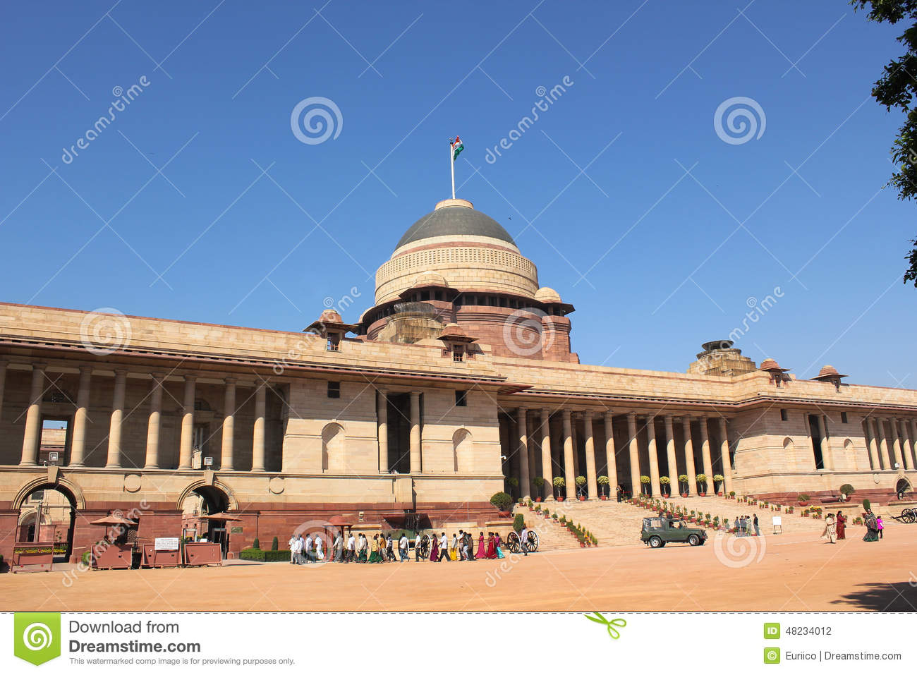 Official home - President of India