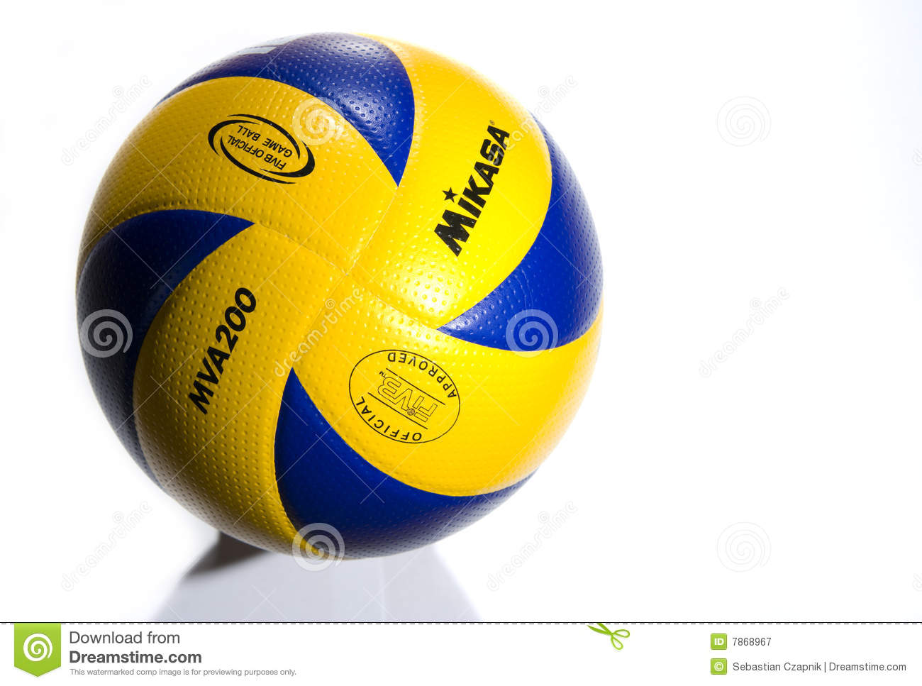 Official Mikasa Volleyball Editorial Photography Image Of Equipment