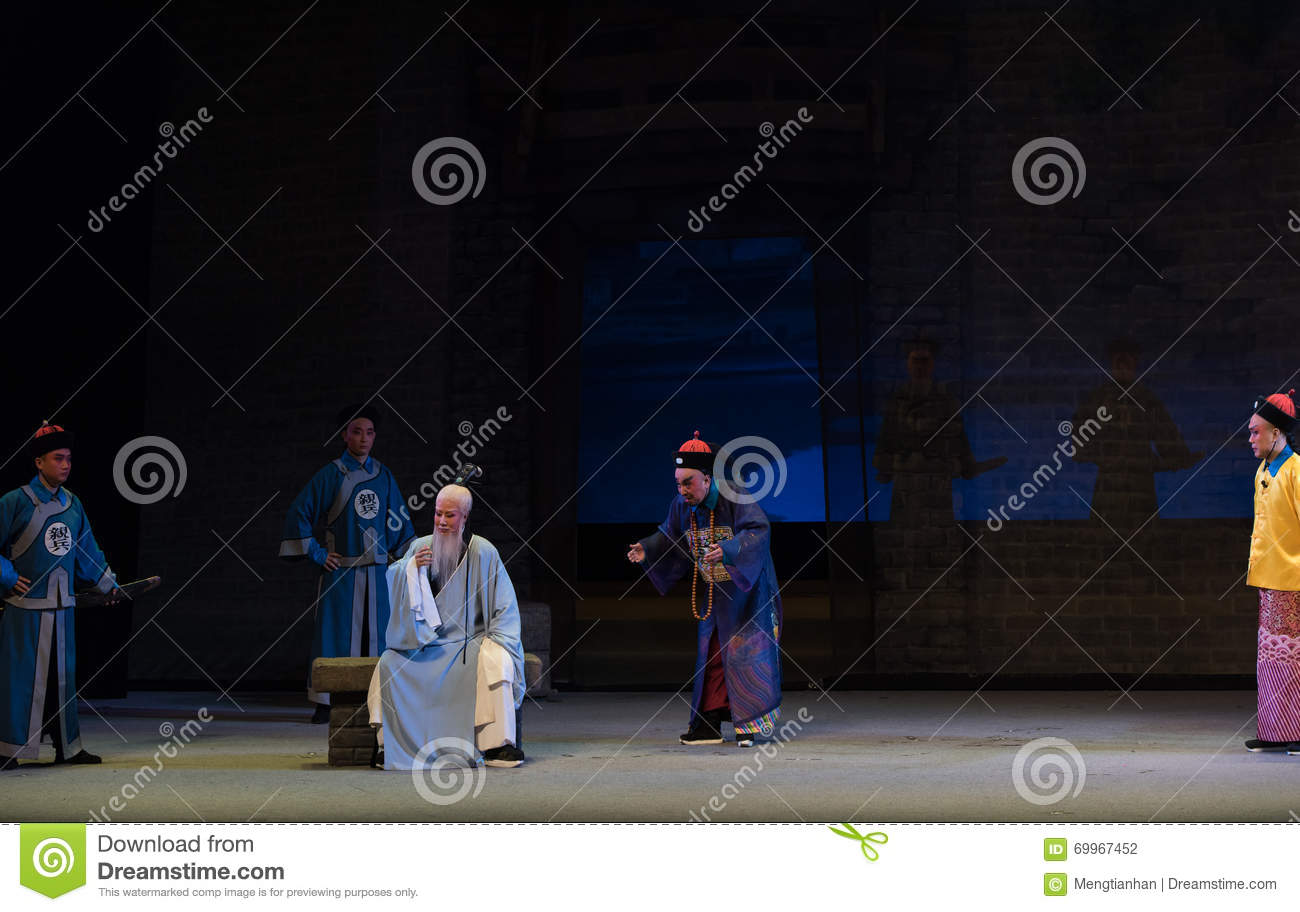 """Officials and Taoist priests-Shanxi Operatic""""Fu Shan to Beijing"""""""