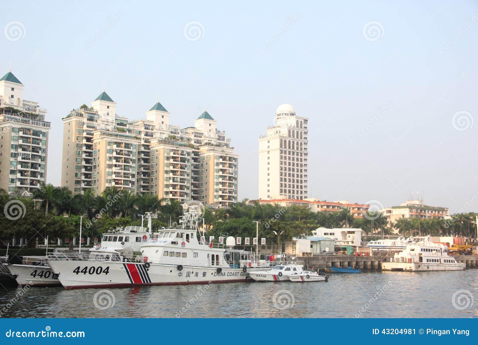 Download Officiellt Skepp För Den Marin- Polisen I SHENZHEN KINA AISA Redaktionell Bild - Bild av kraftigt, officiell: 43204981