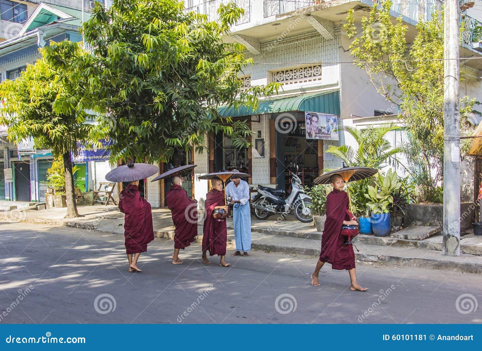 Offre aux moines