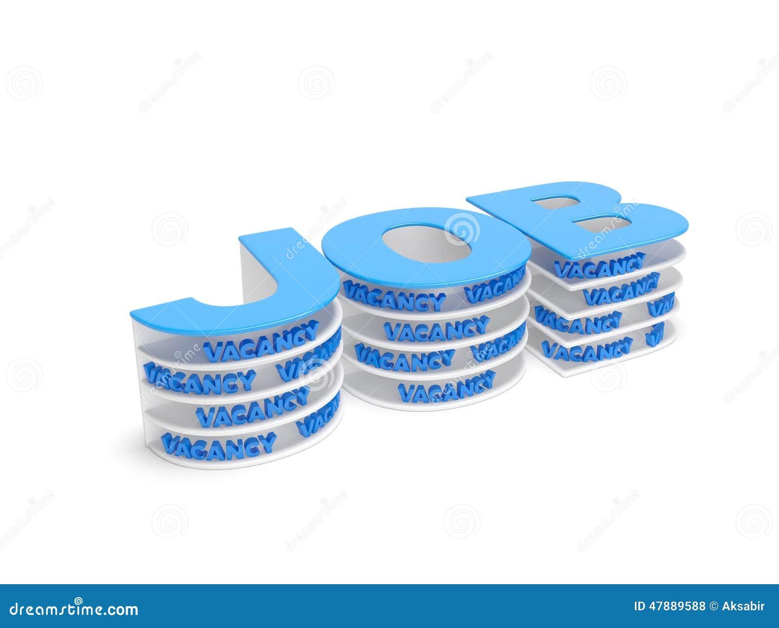 Offre d 39 emploi illustration stock image 47889588 - Offre d emploi office manager ile de france ...