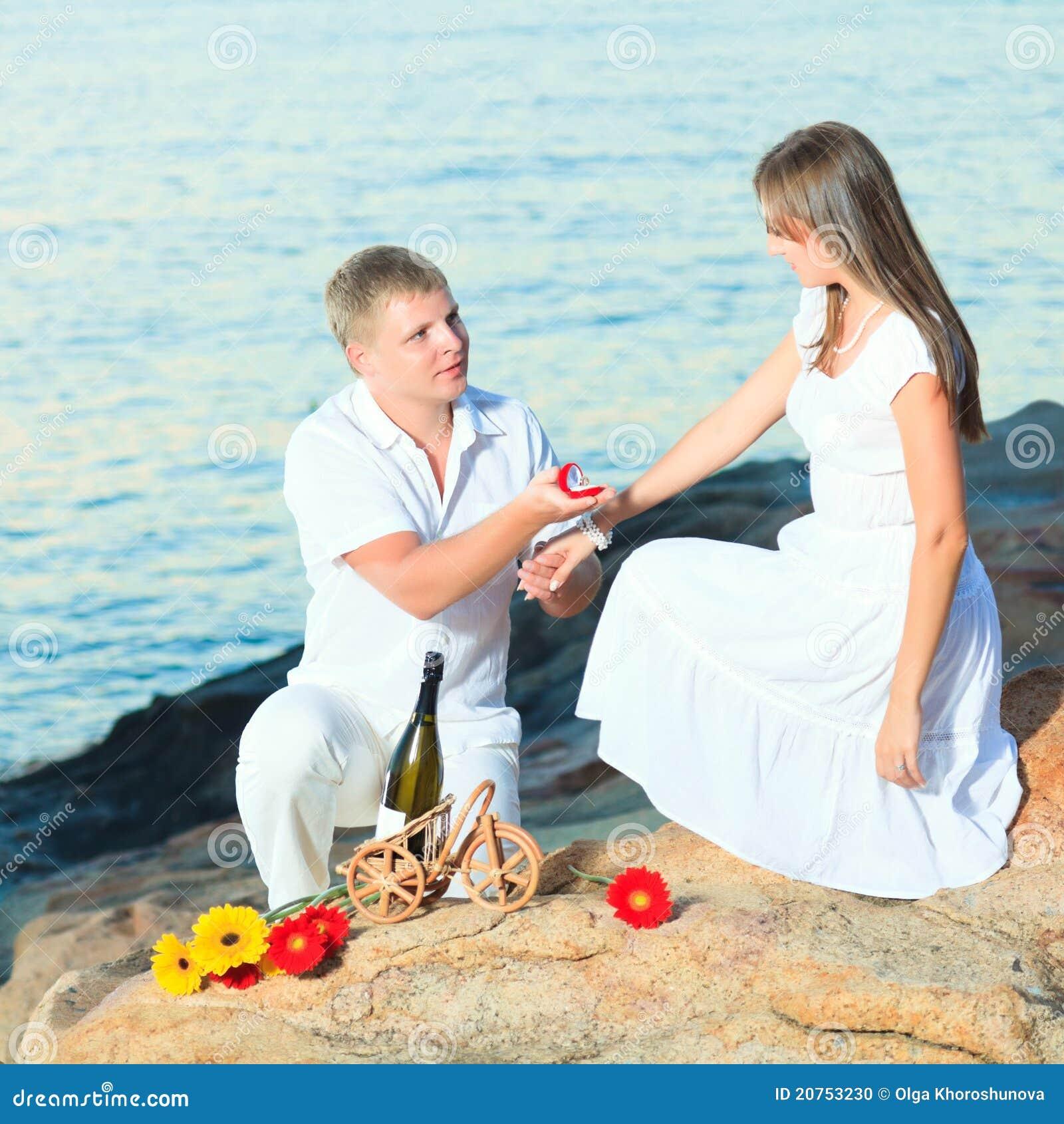 Offre de mariage