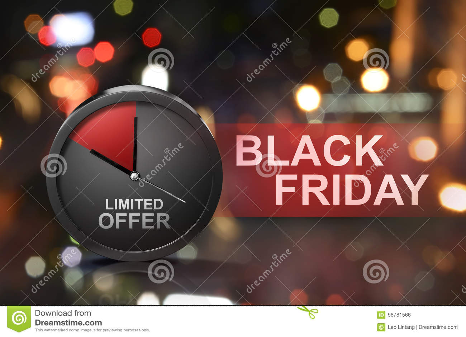 Offre limitée sur le message de Black Friday