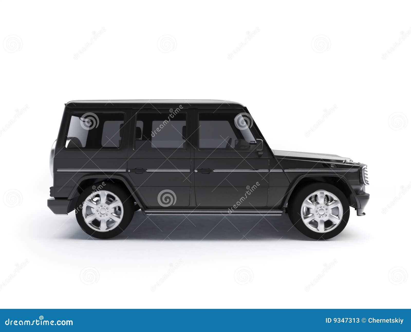 offroad car side view stock illustration image of transportation 9347313. Black Bedroom Furniture Sets. Home Design Ideas