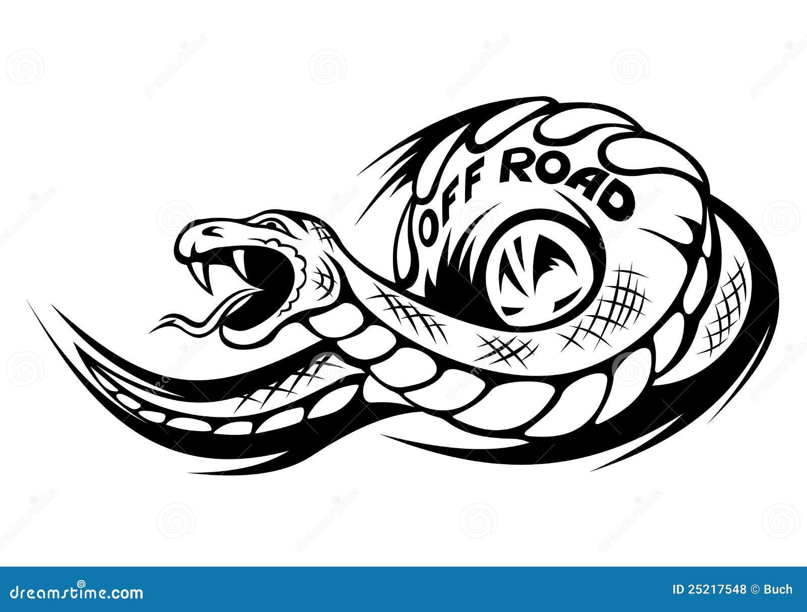 tatouage serpent yin yang epee