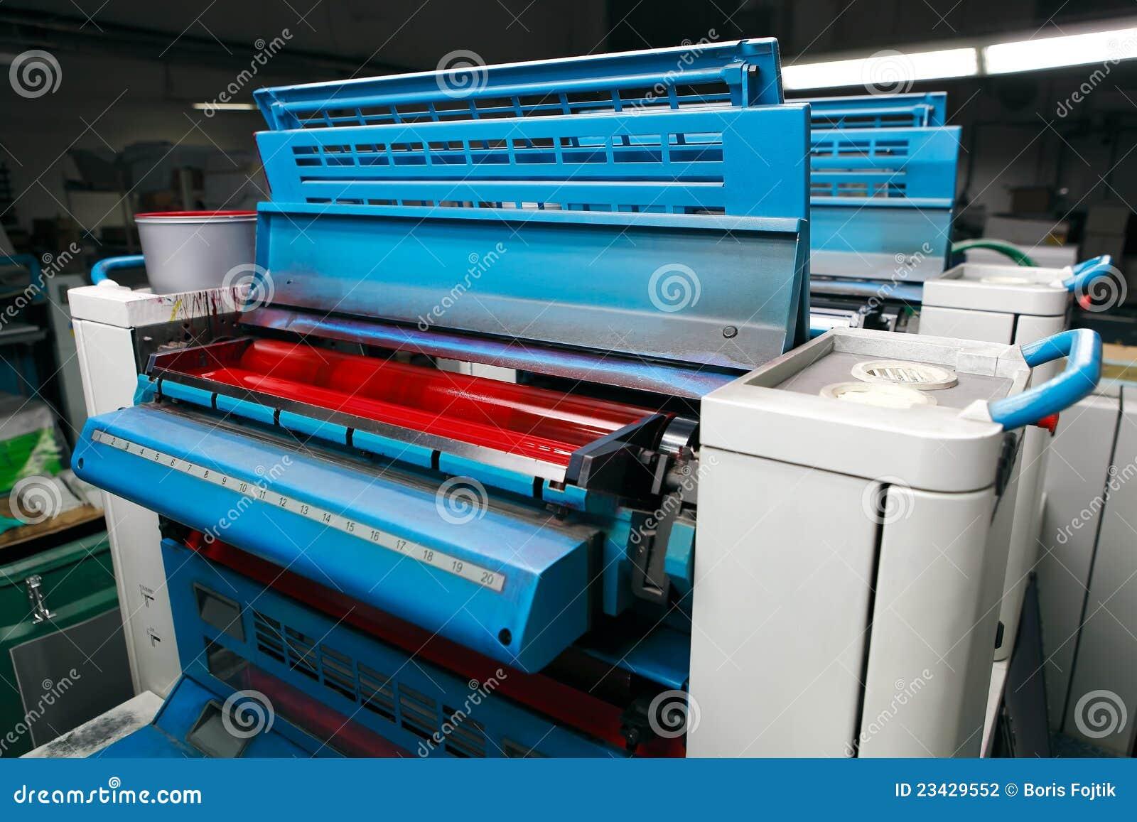 photographic printing machine