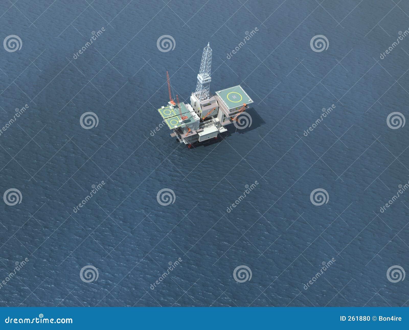 Offshoreölplattform