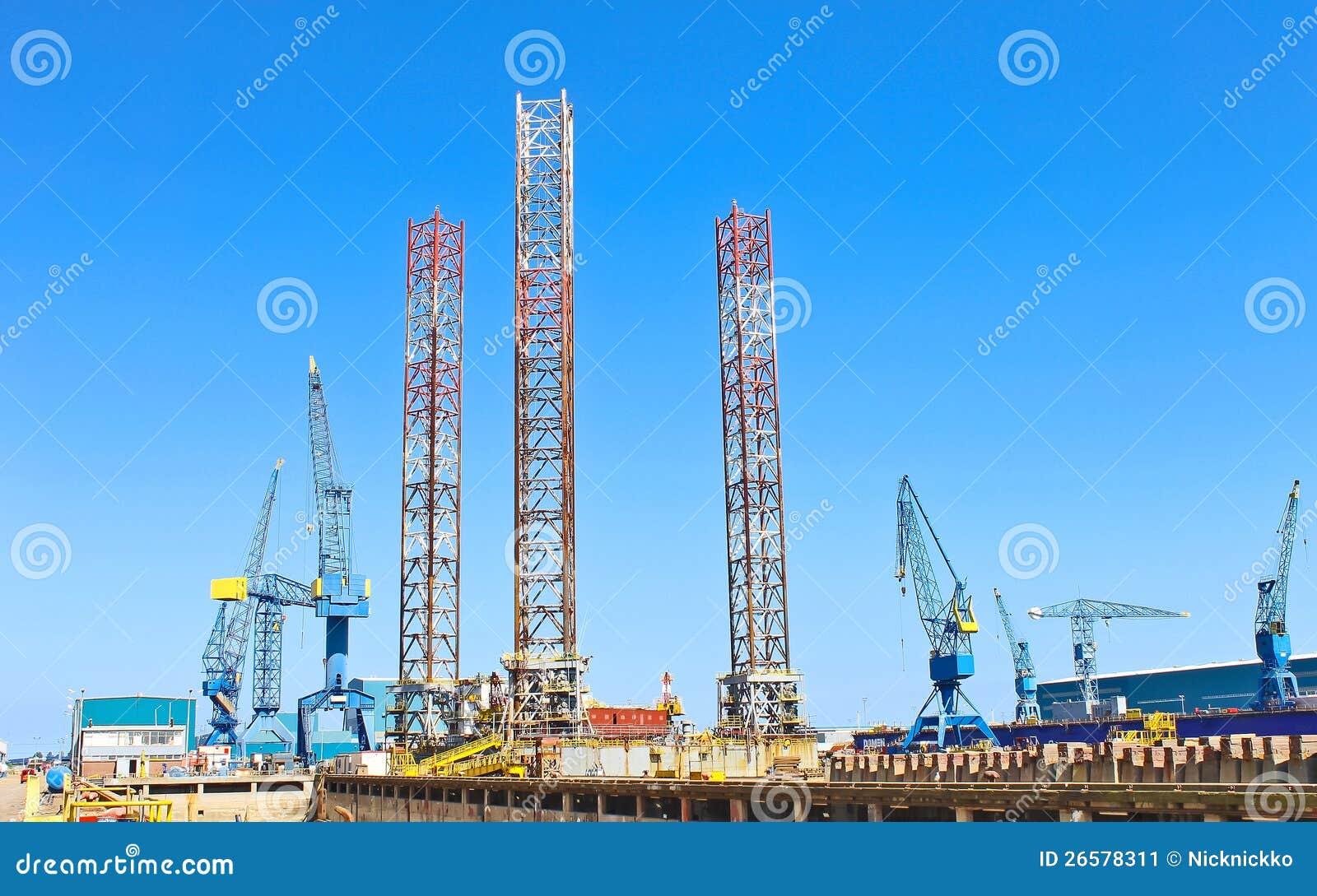 oil rig women naked