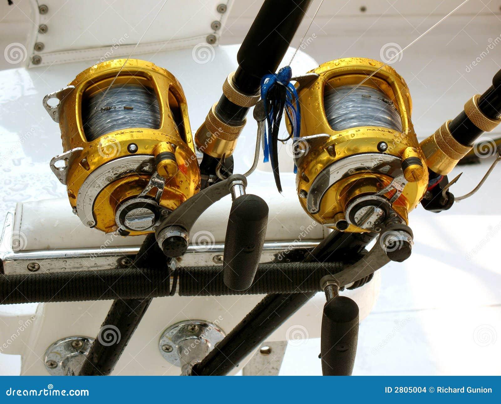 Offshore Fishing Equipment stock photo. Image of equipment ...
