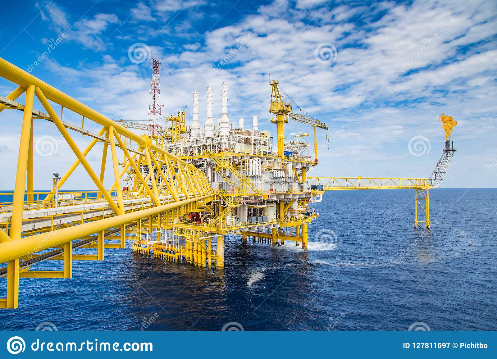 Offshore Oil And Gas Construction Rig, Power And Energy Business