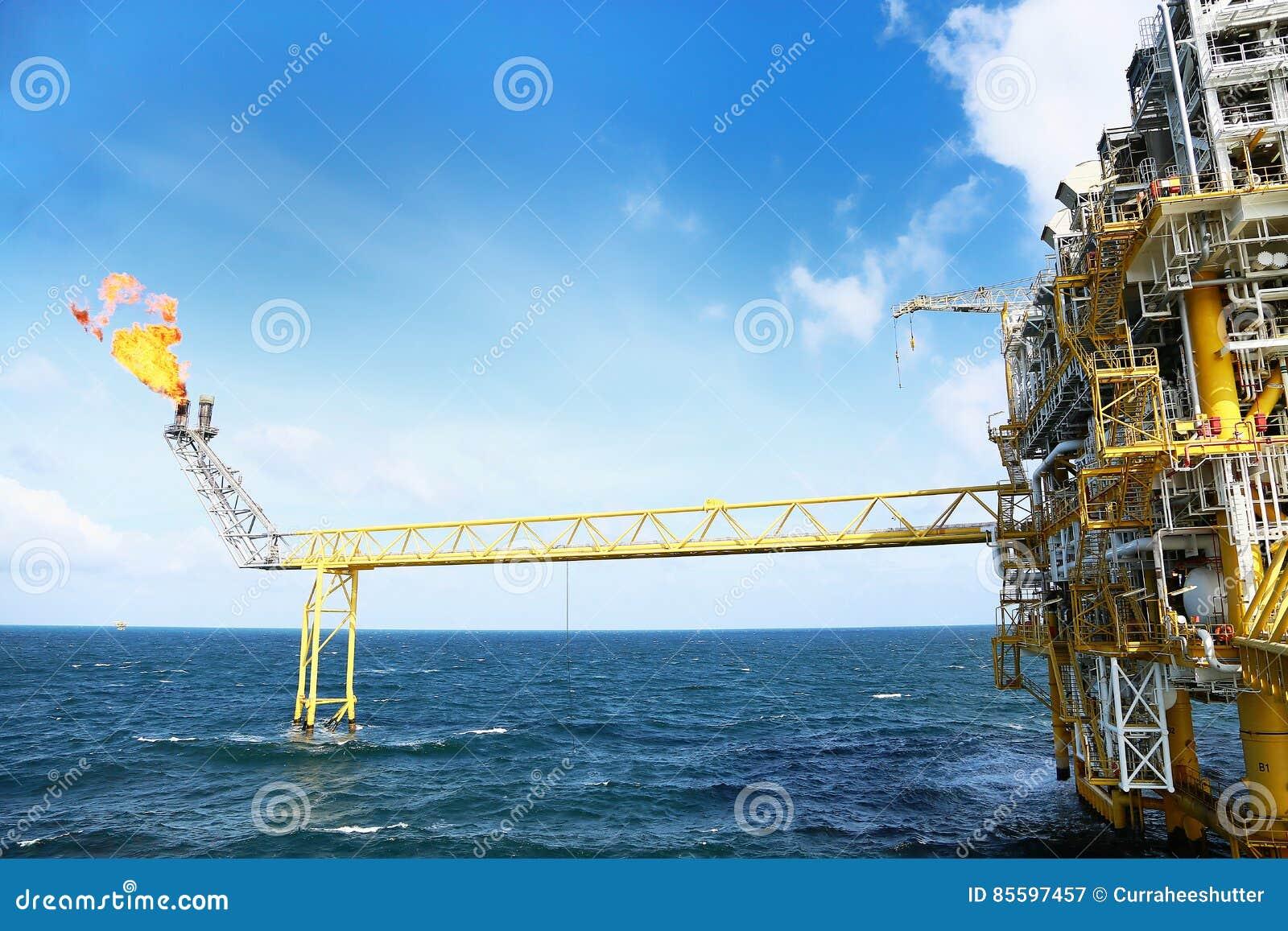 Offshorebauplattform für Produktionsöl und -gas Öl- und Gasindustrie und Industrie der harten Arbeit Förderplattform