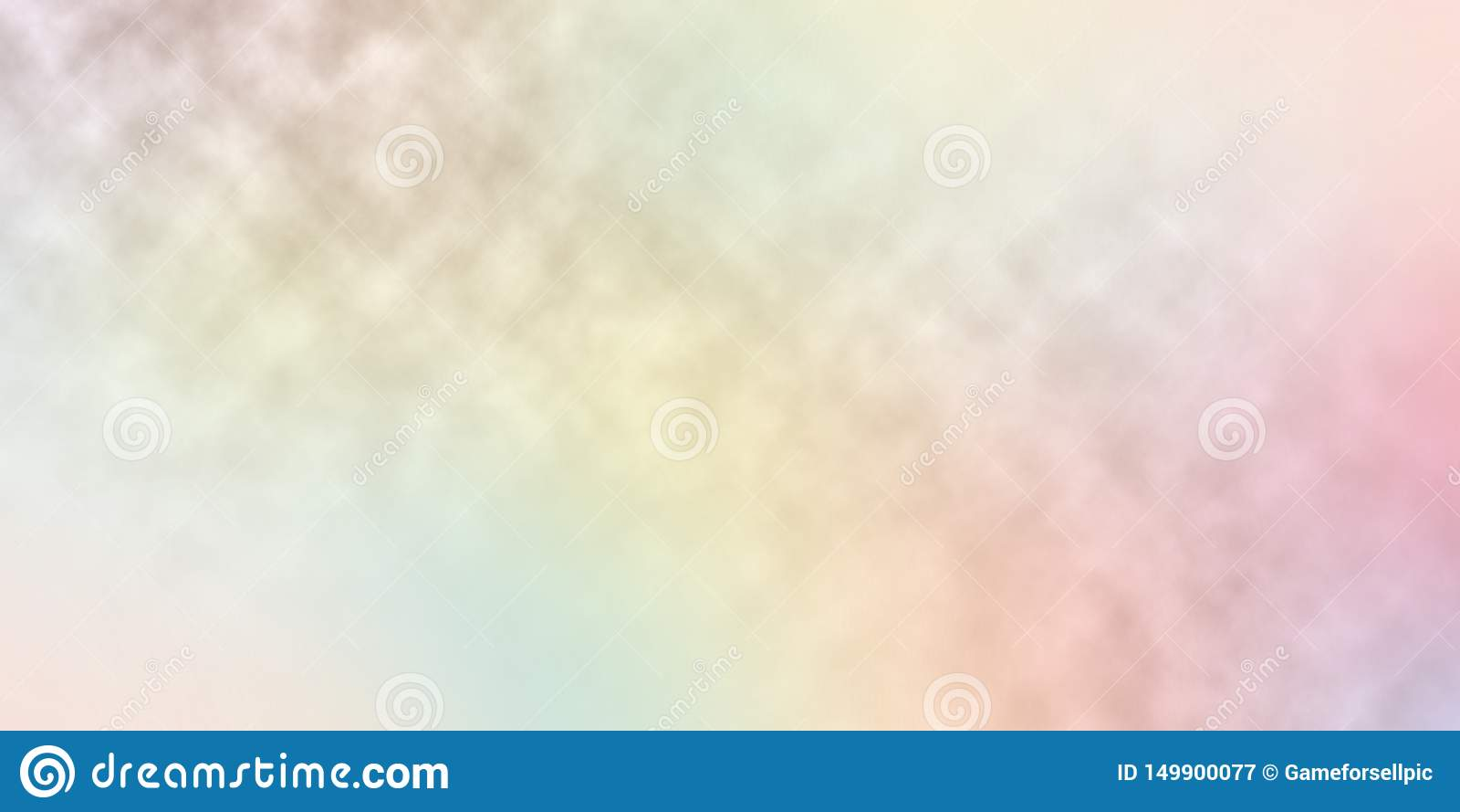 Offuschi l estratto del fondo di colori dell arcobaleno