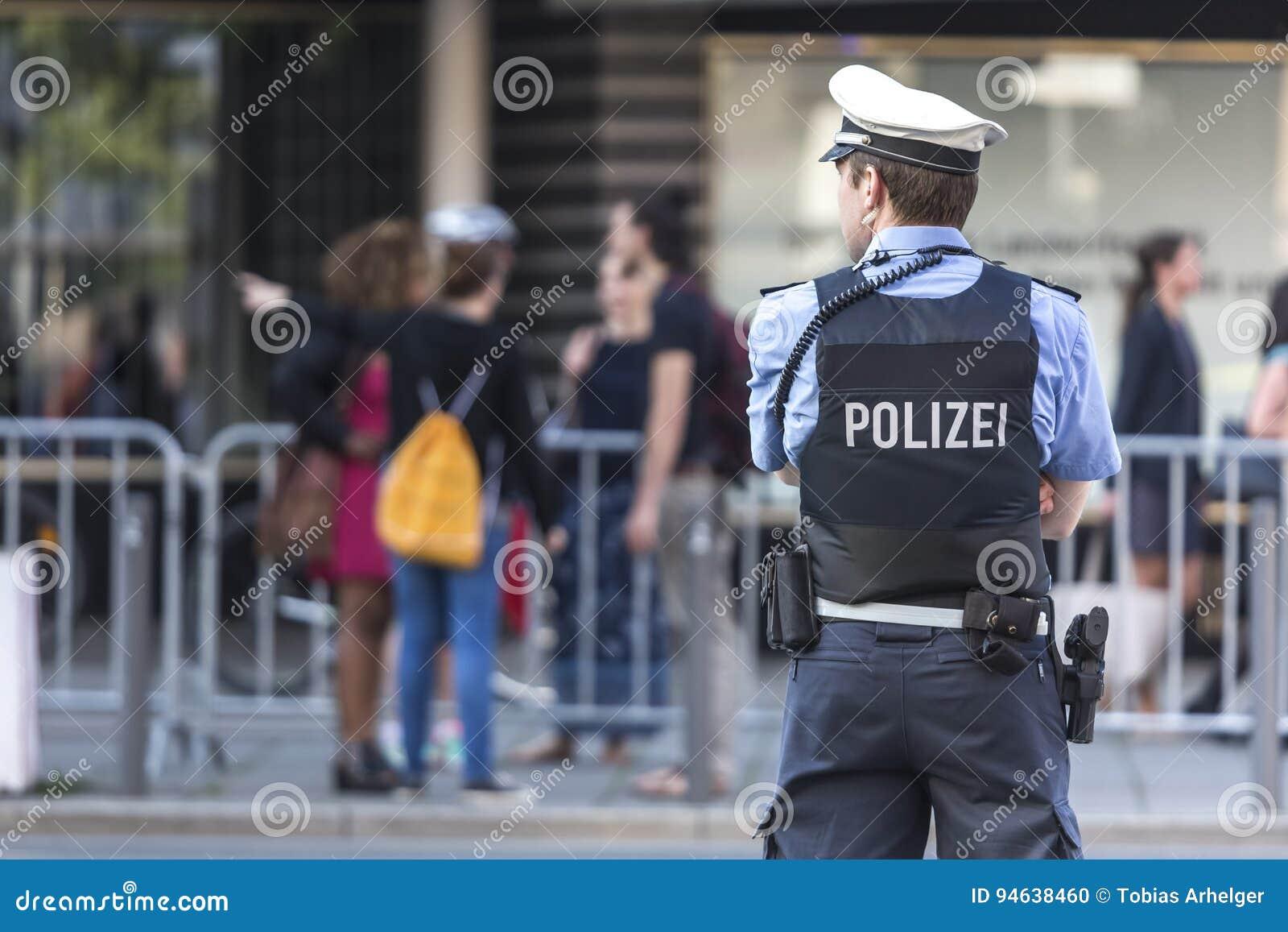 Oficial de policía alemán