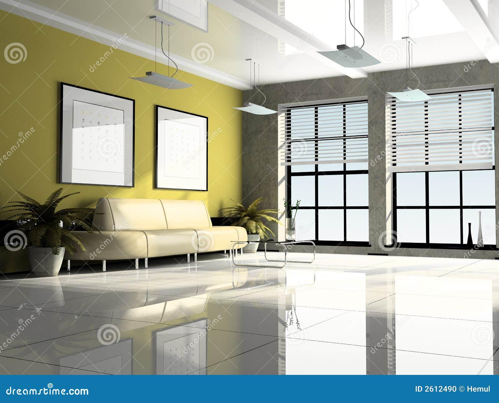 oficina 3d interior foto de archivo imagen 2612490