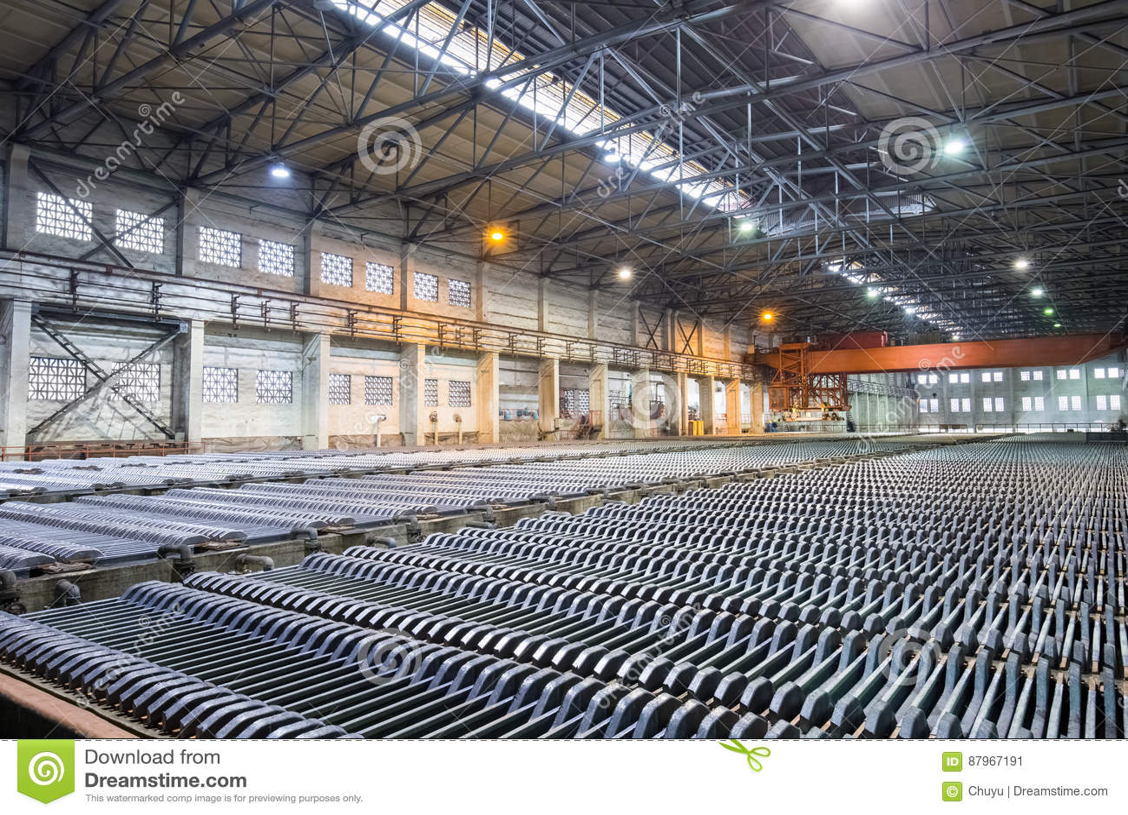 Oficina electrowinning do zinco