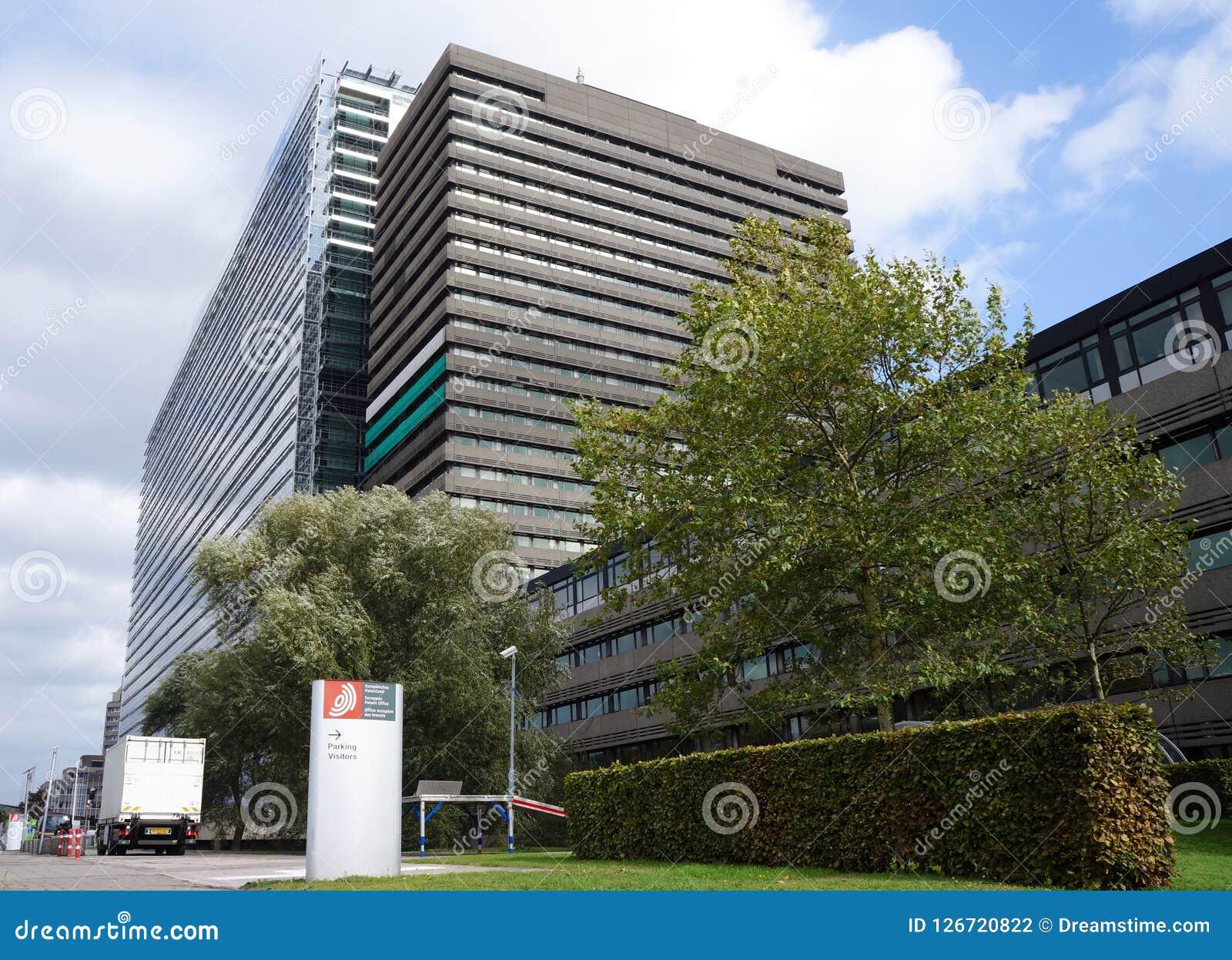 Oficina Europea de Patentes, EPO, en Rijswijk los Países Bajos