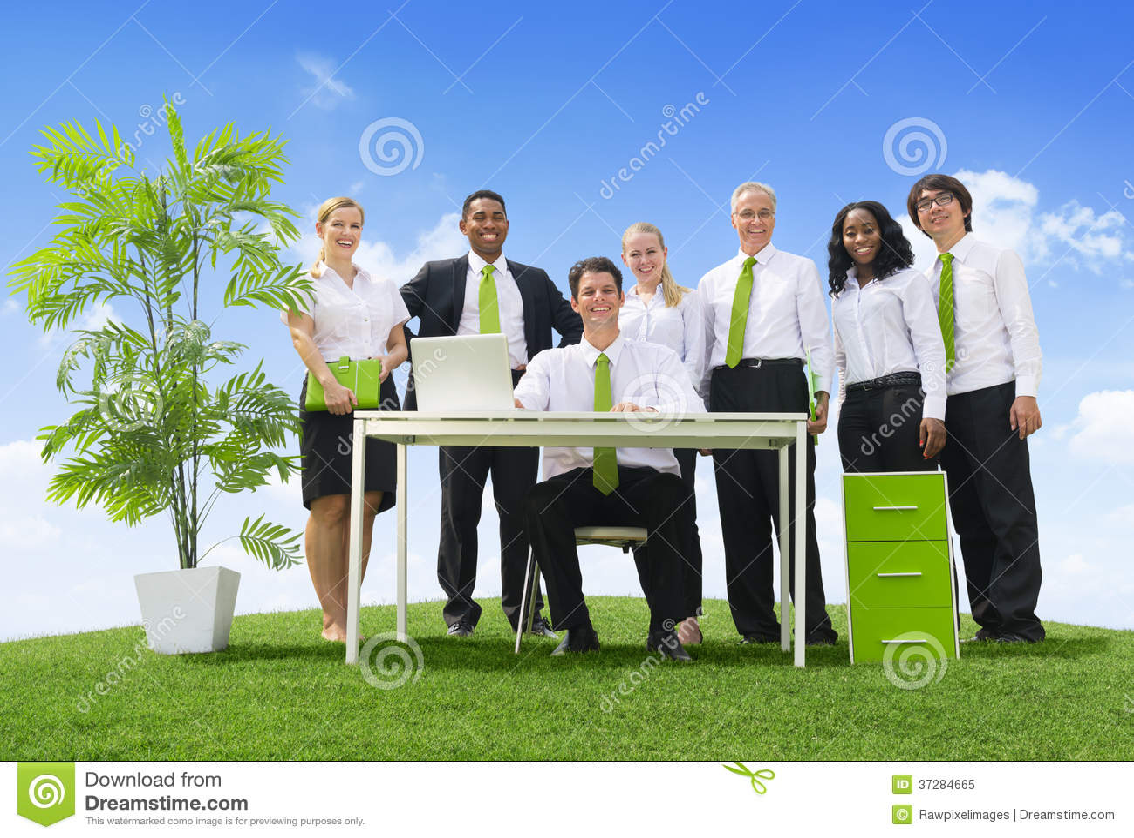 Oficina favorable al medio ambiente imagen de archivo for Oficina de medio ambiente