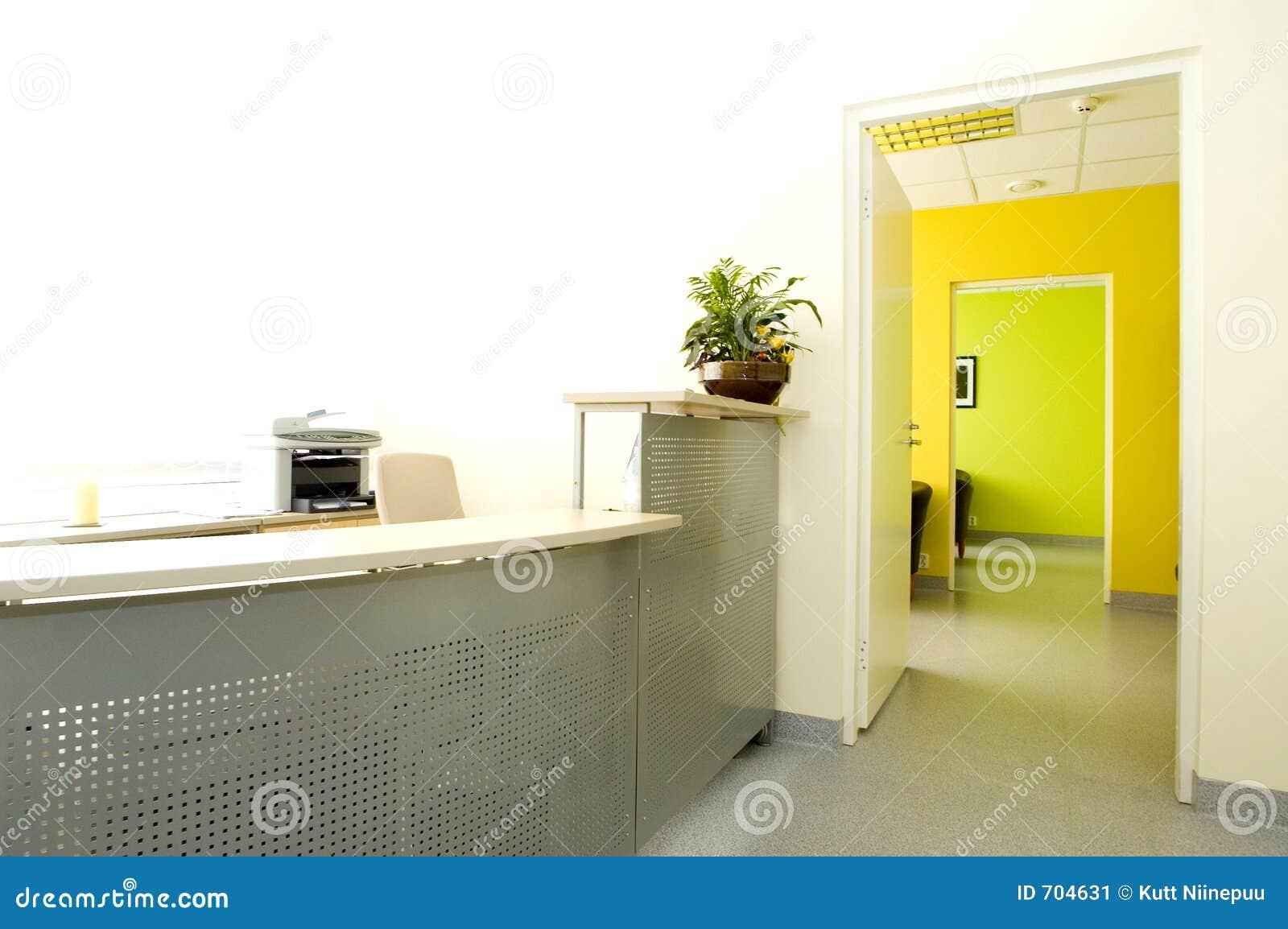 Oficina moderna imagen de archivo imagen 704631 for Recepcion oficina moderna