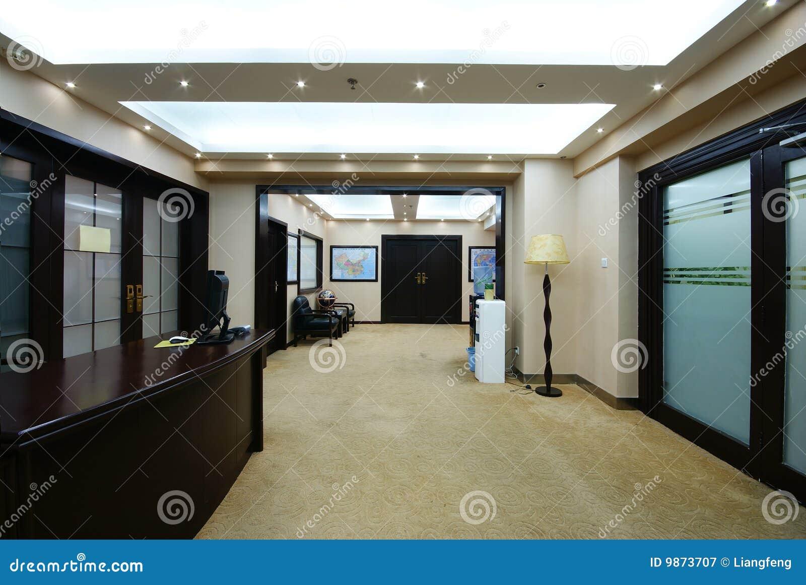 Oficina ordenada de la compañía