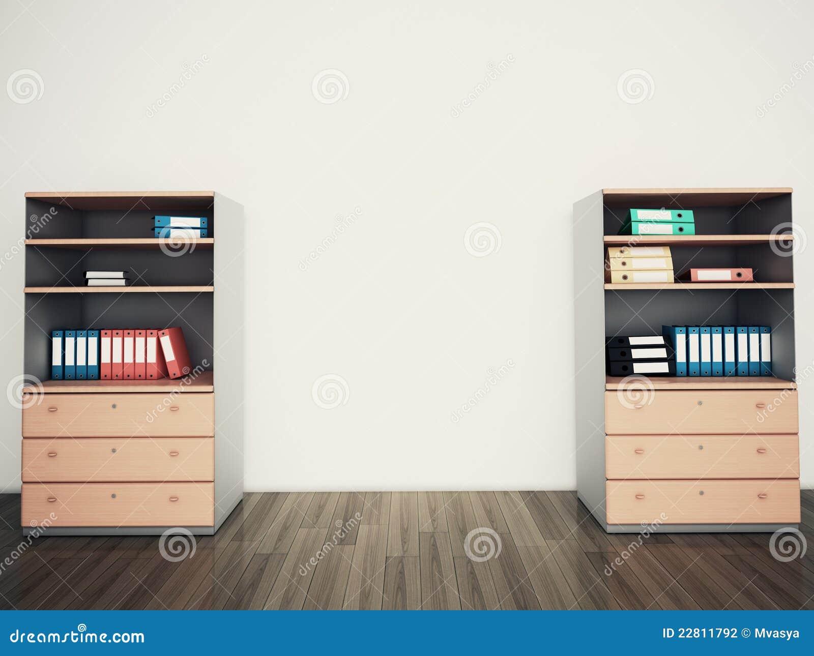 Oficina vac a de la pared for Paredes de cristal para oficinas