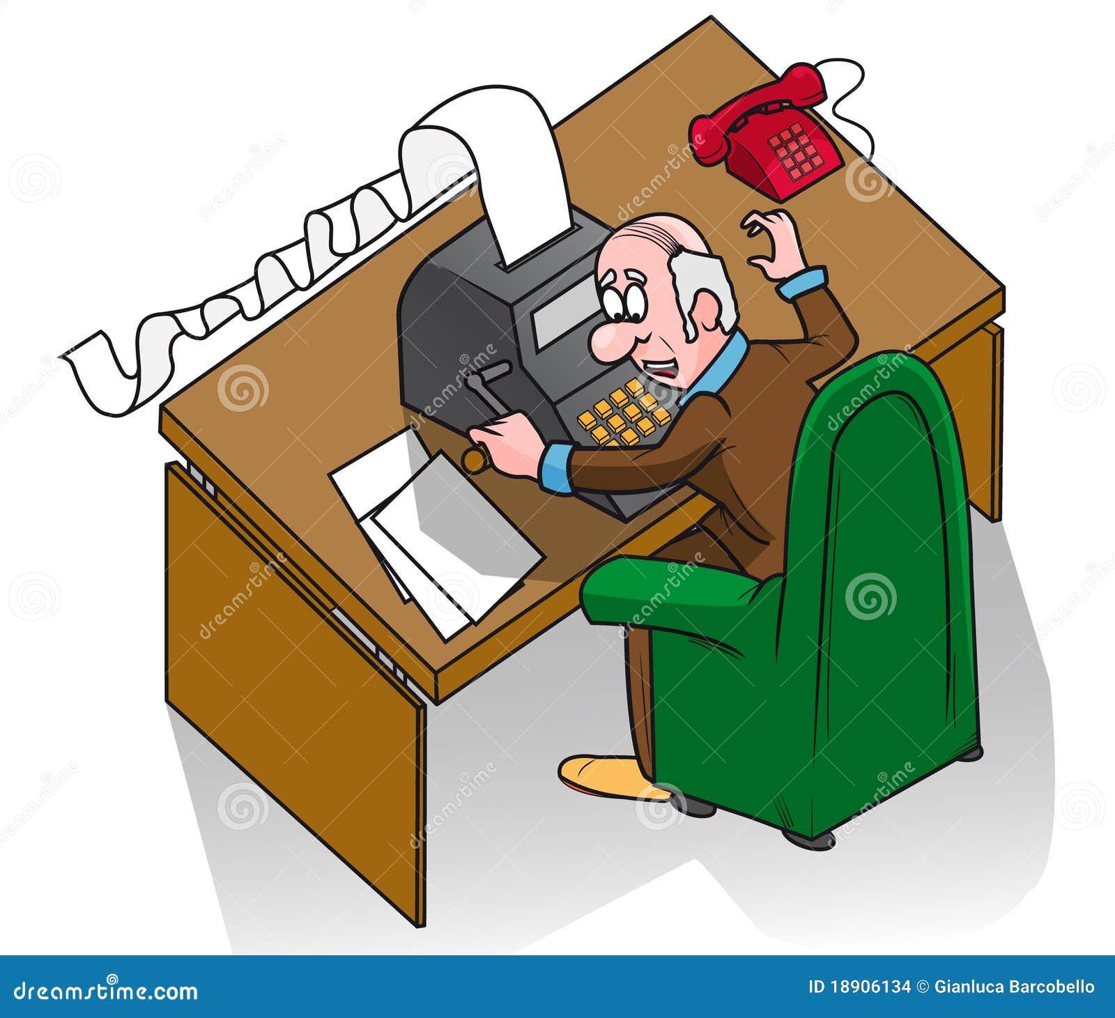 Oficinista imagenes de archivo imagen 18906134 for Que es un oficinista