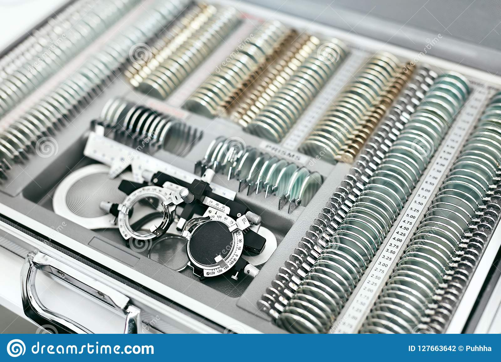 Oftalmologiemedische apparatuur, Hulpmiddelen voor de Close-up van het Zichtexamen