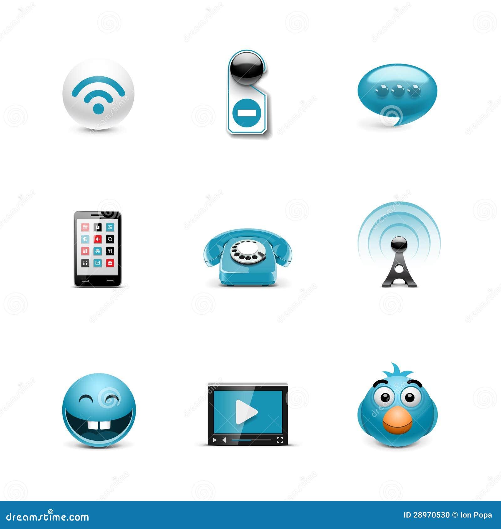 Ogólnospołeczne ikony. Azzuro serie