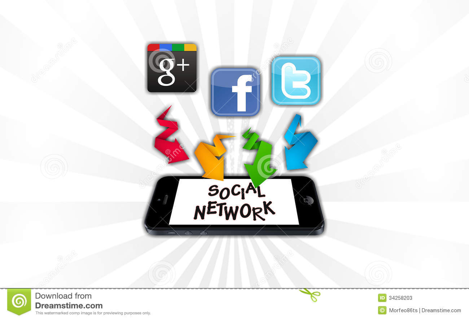 Ogólnospołeczne sieci na smartphone