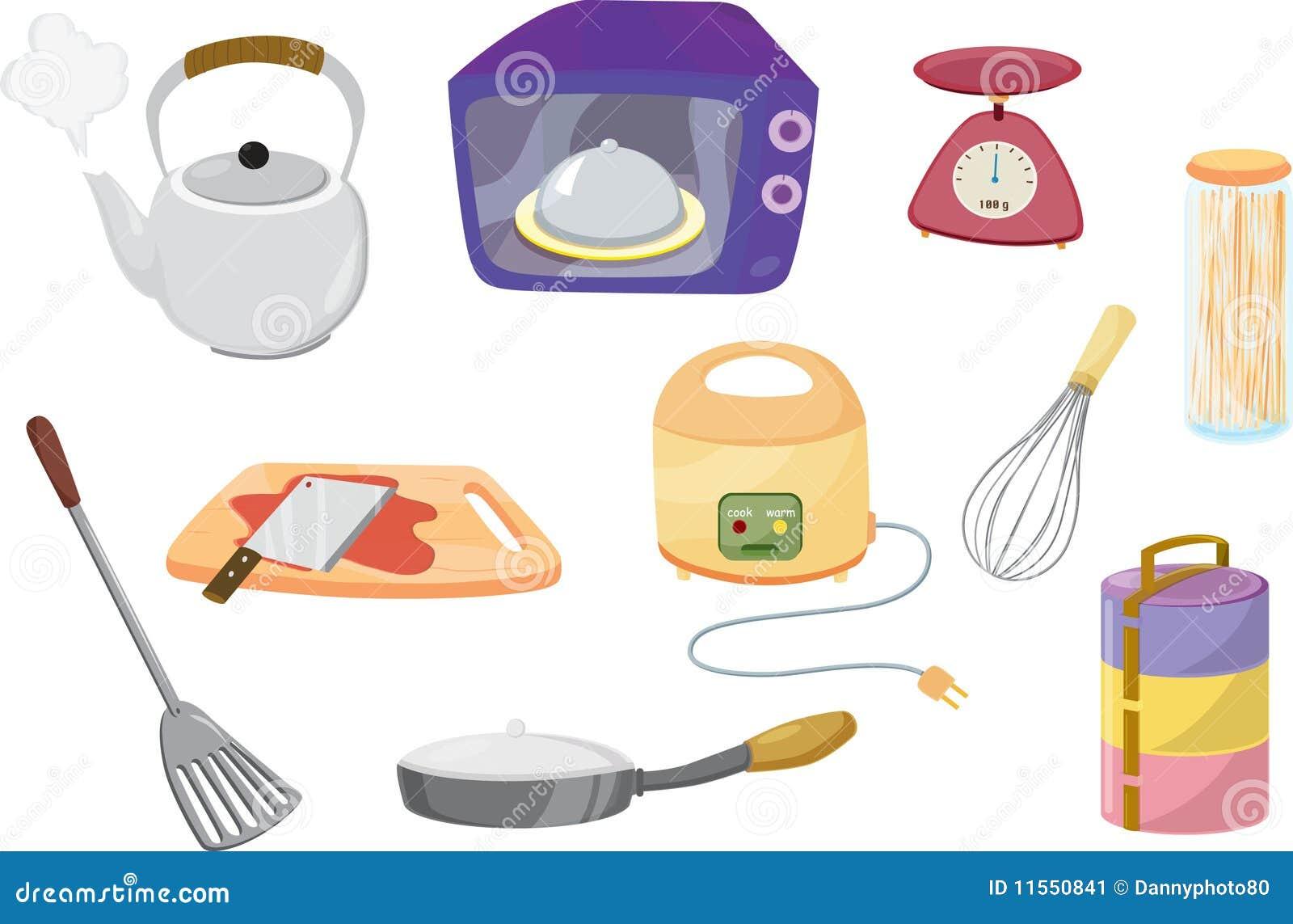 Oggetti illustrazione vettoriale illustrazione di cucina for Oggetti di cucina