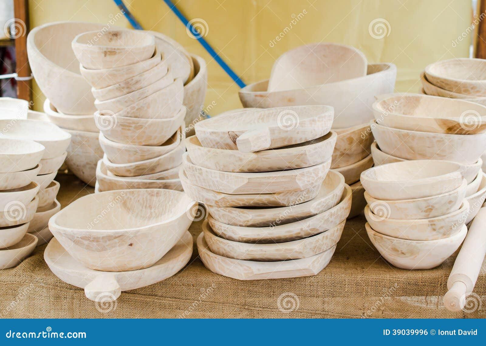 oggetti di legno per la cucina, i piatti, la ciotola, ecc ... - Oggetti Per Cucina