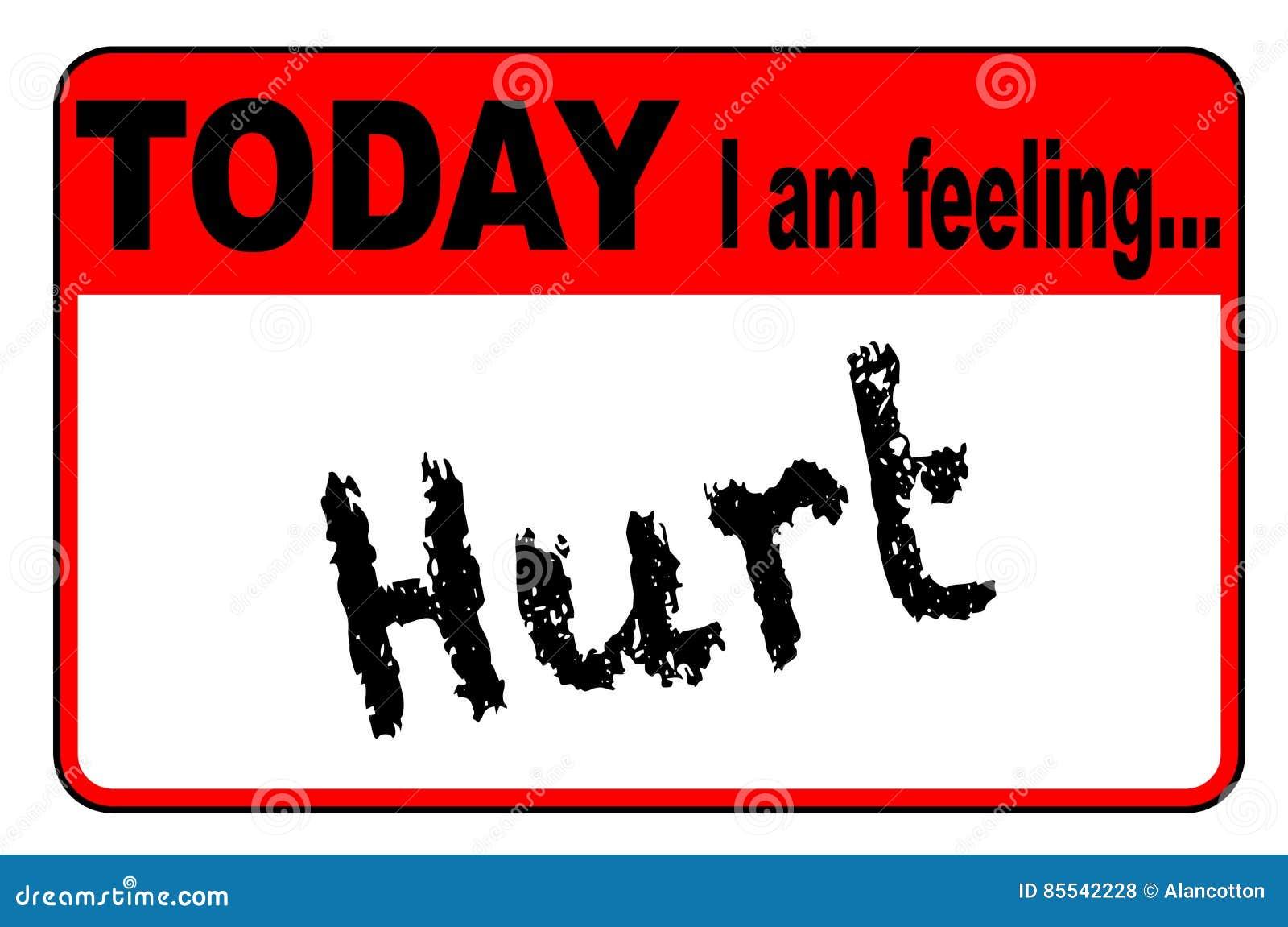 Oggi sto ritenendo ferito