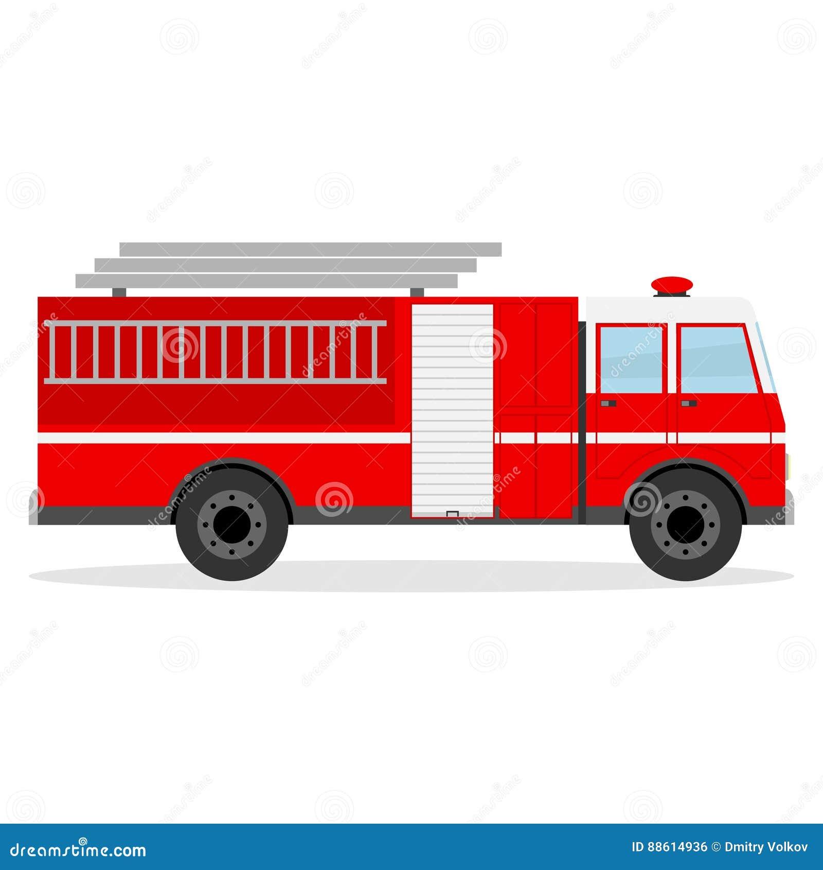 Ogień firetruck silnika stare show