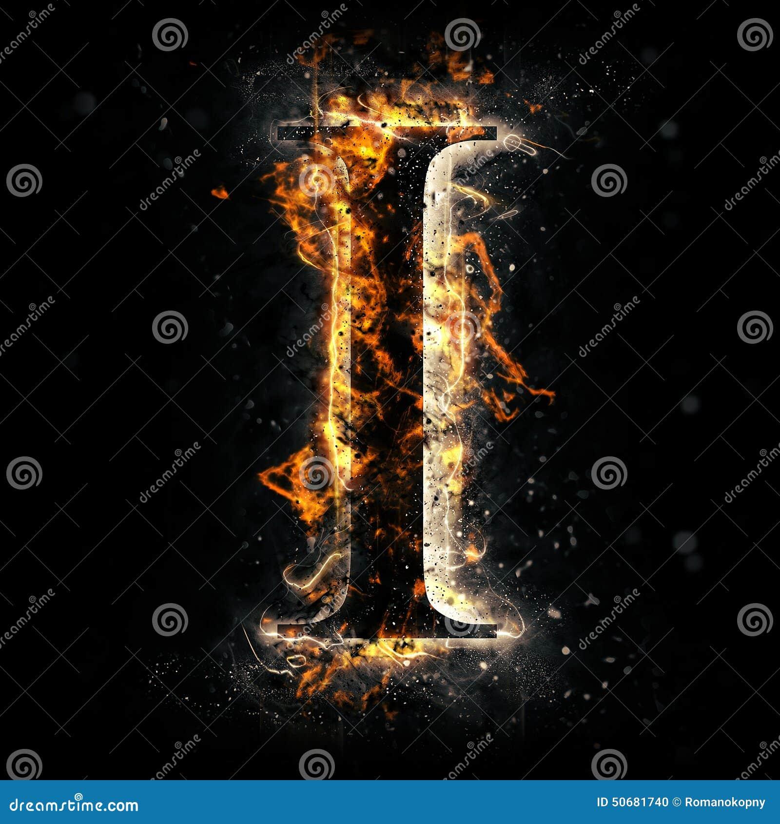 Ogień ja piszę list