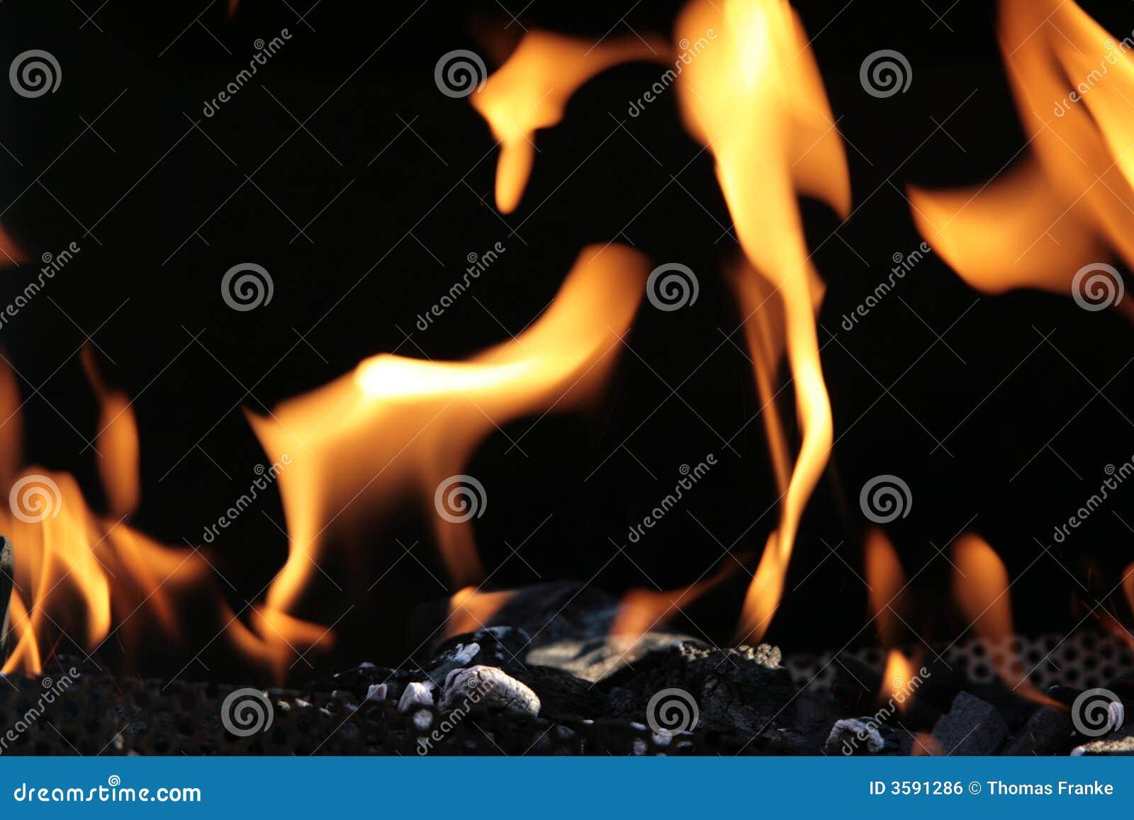 Ogień węglowego