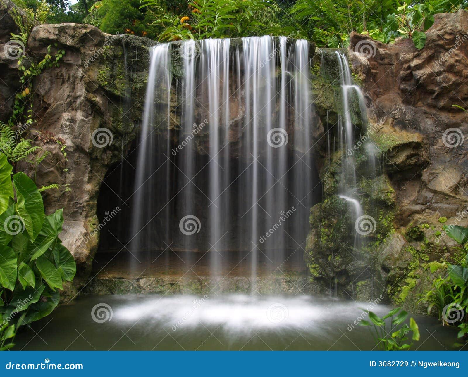 Ogród botaniczny wodospadu