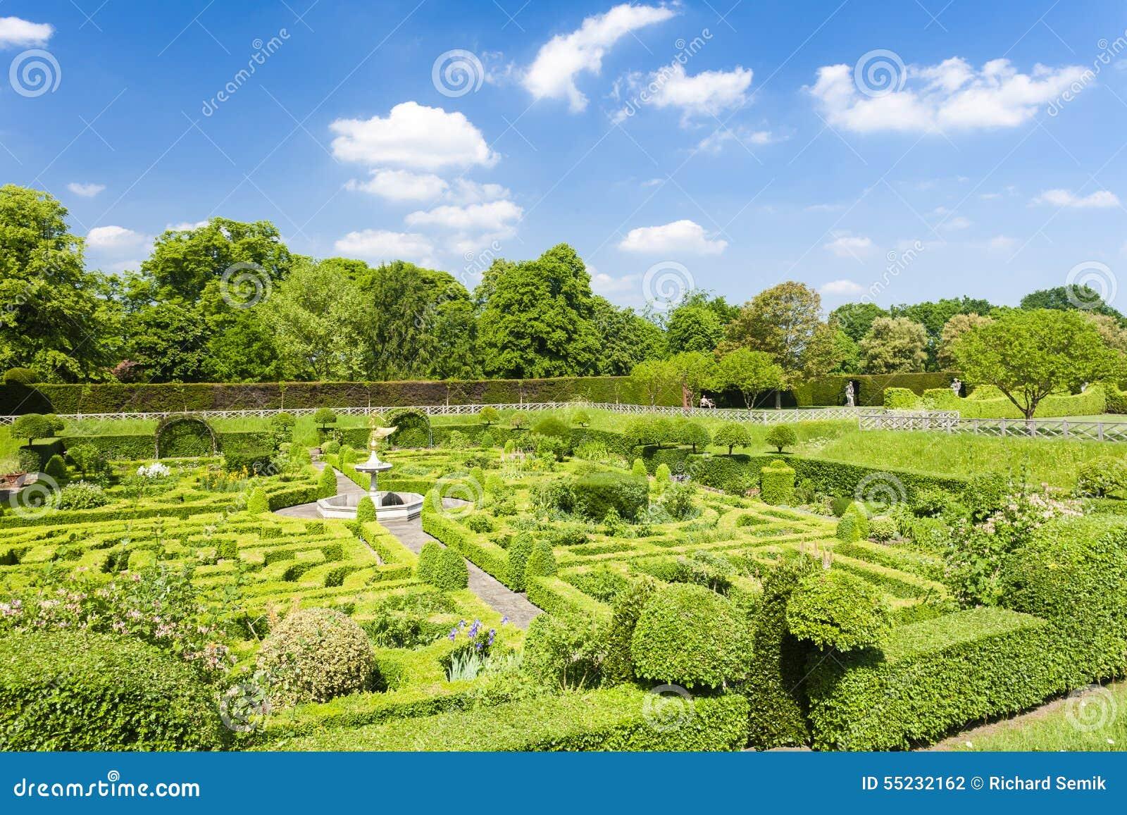 Ogród Hatfield dom